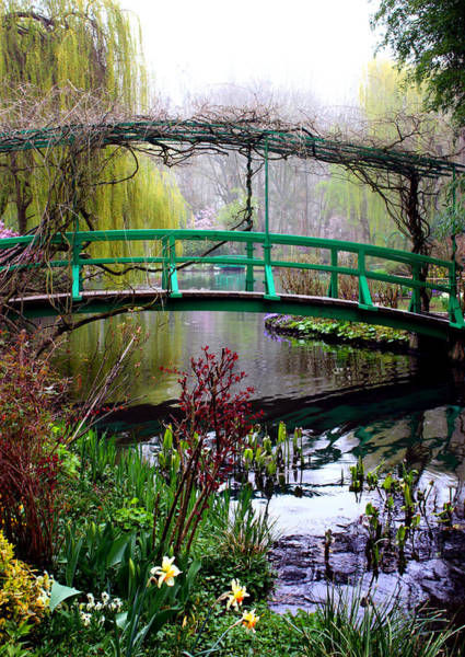 Giverny Photograph - Monet's Magical Bridge by Susie Weaver