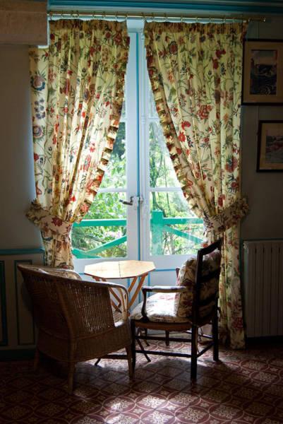 Photograph - Monet's Window Seat by Jani Freimann