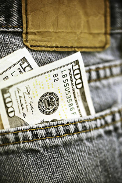 Photograph - Money Jeans by Trish Mistric