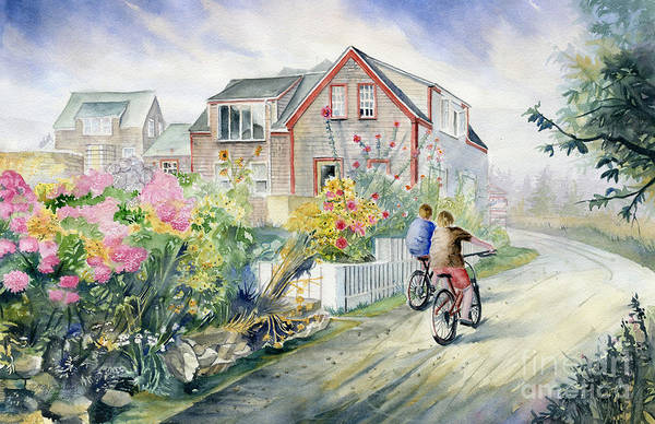 Wall Art - Painting - Monhegan Avenue  by Melly Terpening