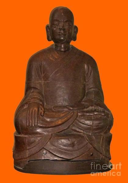 Monk Seated Art Print