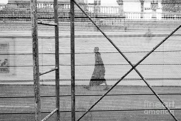 Wall Art - Photograph - Monk Walks By by Dean Harte