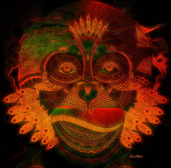 Digital Art - Monkey 787 by Ericamaxine Price