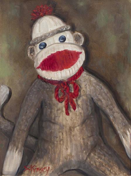Monkey Business Art Print by Sheila Kinsey
