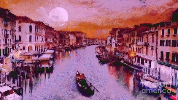 Monkey Painted Italy Again Art Print