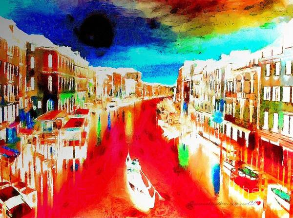 Painting - Monkey Painted Italy Lit  by Catherine Lott