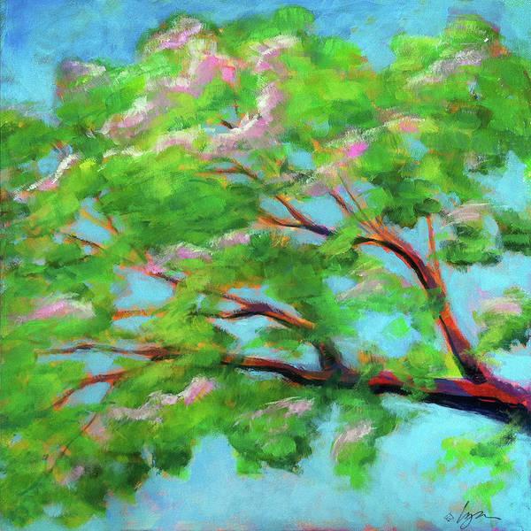 Painting - Monkeypod Dawn by Angela Treat Lyon