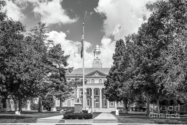 Photograph - Monmouth College Wallace Hall by University Icons