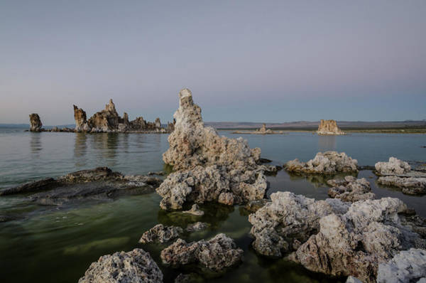 Photograph - Mono Lake At Dusk by Margaret Pitcher