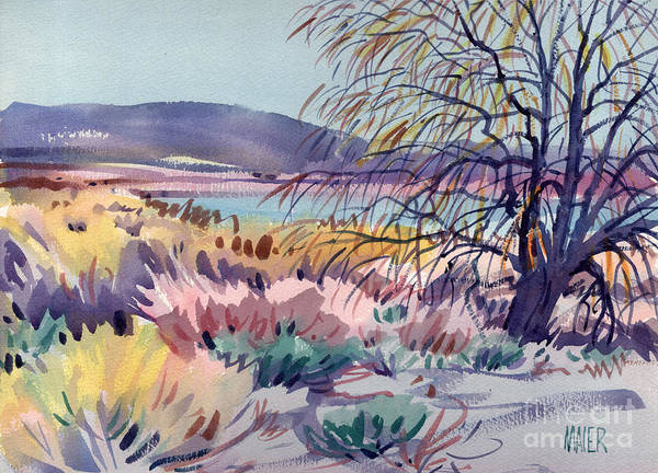 Mono Painting - Mono Lake At Lee Vinning by Donald Maier