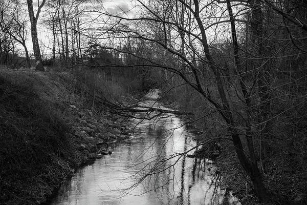 Photograph - Monocacy Creek In Winter by Jennifer Ancker