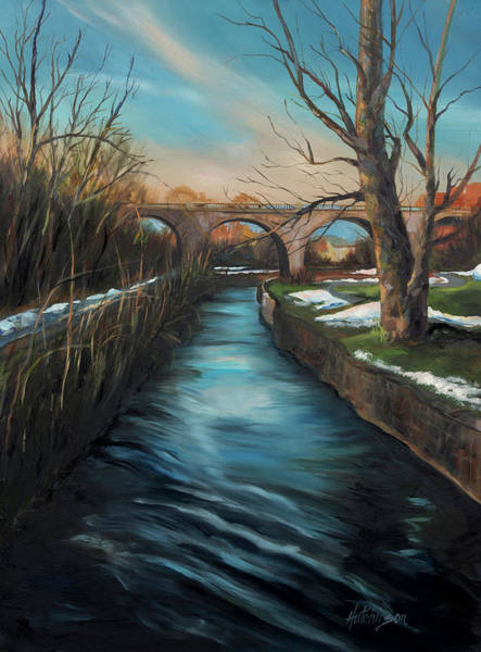Monocacy Wall Art - Painting - Monocacy View by Diane Hutchinson