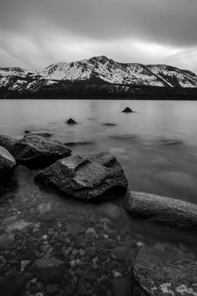 Fallen Leaf Lake Photograph - Monochromatic Dream By Brad Scott by Brad Scott