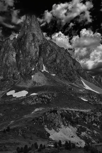 Wall Art - Photograph - Monochromatic In The Alps by Jon Glaser