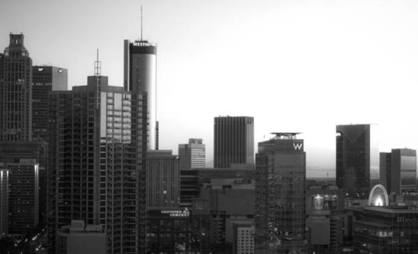 Photograph - Monochrome City by Mike Dunn
