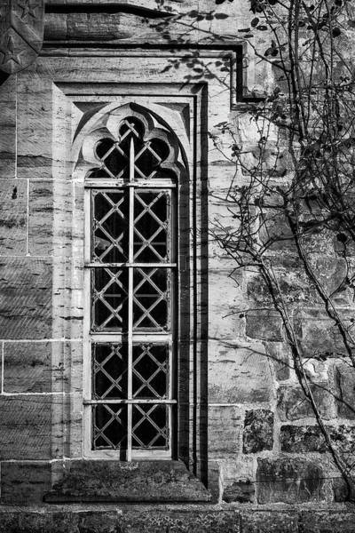 Wall Art - Photograph - Monochrome Detail Image Of Regency Period Design Window In Medie by Matthew Gibson