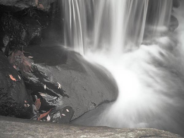 Photograph - Monochrome Falls by Jim DeLillo