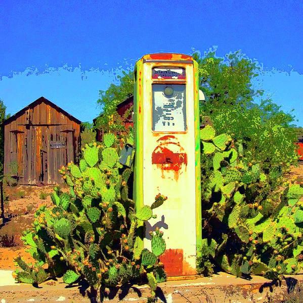 Cactus Mixed Media - Monolith by Dominic Piperata