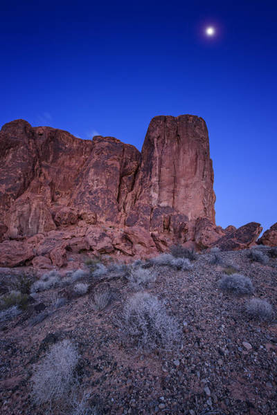 Photograph - Monolith Moonrise by Rick Berk