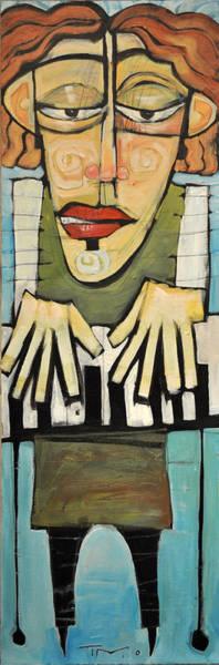 Wall Art - Painting - Monsieur Keys Sans Keyboard Extension by Tim Nyberg