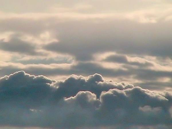 Photograph - Monsoon Clouds by Judy Kennedy
