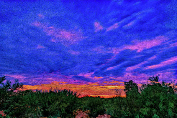 Photograph - Monsoon Sunset Op44 by Mark Myhaver