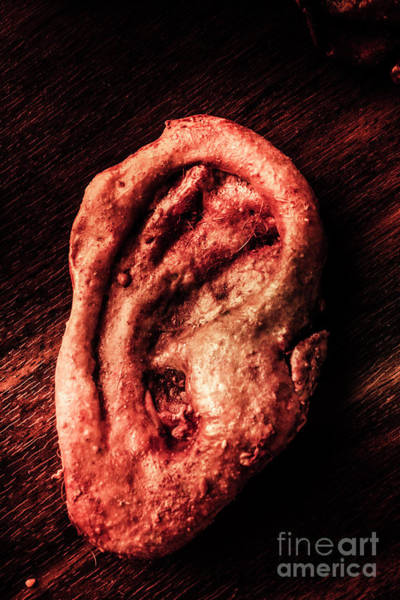 Body Parts Photograph - Monster Donation by Jorgo Photography - Wall Art Gallery