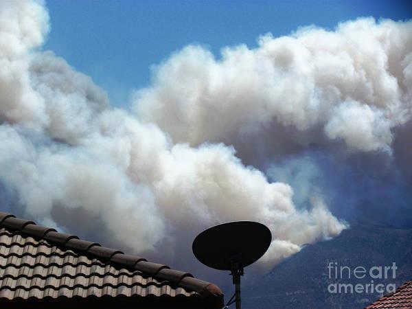 Photograph - Monster Fire In Sierra Vista by Stanley Morganstein