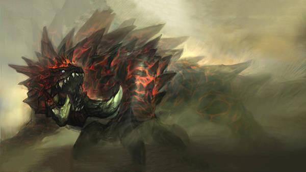 Fractal Digital Art - Monster Hunter by Maye Loeser