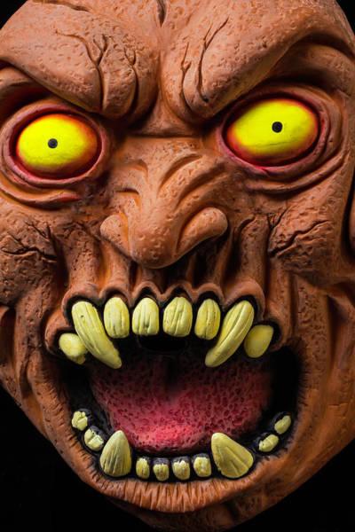 Wall Art - Photograph - Monster Mask by Garry Gay