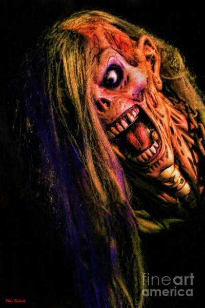 Photograph - Monster Scream by Blake Richards