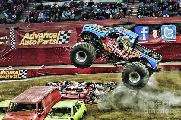 Wall Art - Photograph - Monster Truck -instigator by Paul Ward