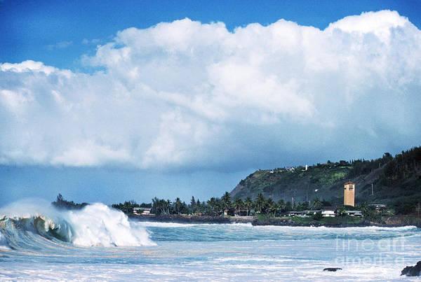 Photograph - Monster Wave Waimea Bay by Thomas R Fletcher