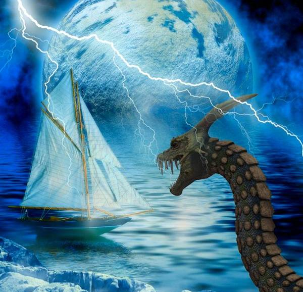 Dragon Boats Wall Art - Photograph - Monstrous Storm by G Berry