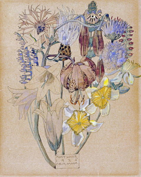 Wall Art - Painting - Mont Louis  by Charles Rennie Mackintosh