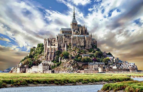 Photograph - Mont Saint-michel by Anthony Dezenzio