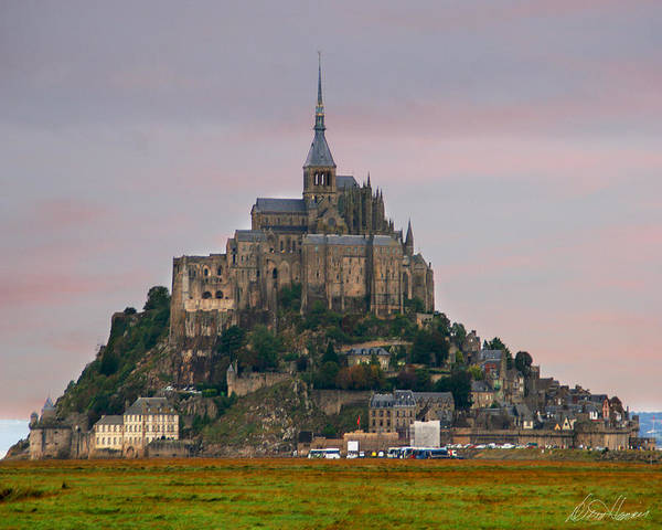 Photograph - Mont Saint Michel by Diana Haronis