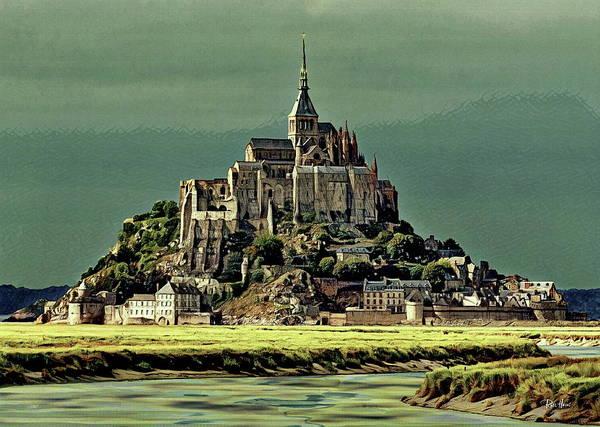 Wall Art - Mixed Media - Mont Saint-michel by Russ Harris