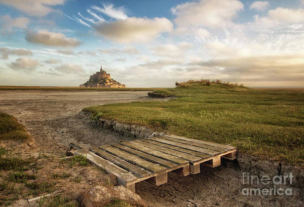 Photograph - Mont Saint-michel's Bay by Dominique Guillaume