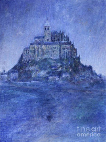 Normandy Painting - Mont St Michel by Andy  Mercer