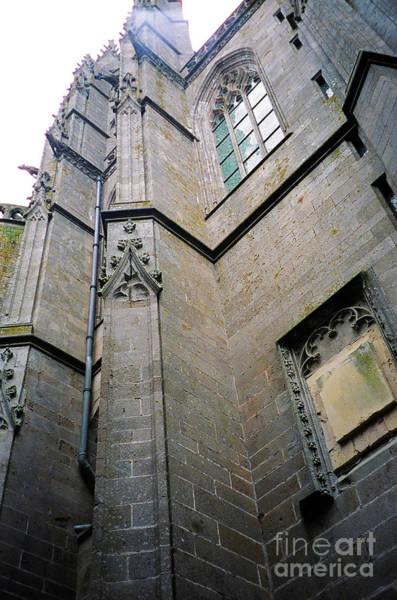 Photograph - Mont St Michel Vertical by Donna L Munro