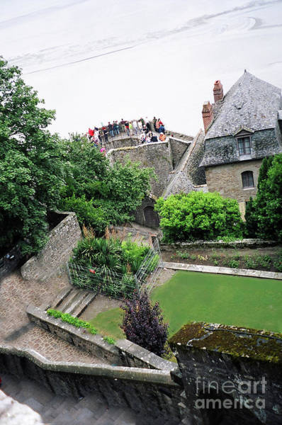 Photograph - Mont St Michel View Down by Donna L Munro