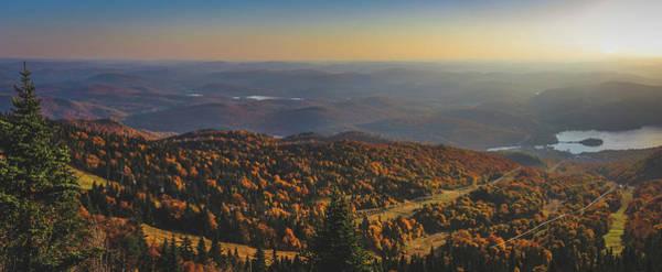 Mont Tremblant Summit Panorama Art Print