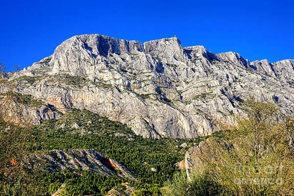Wall Art - Photograph - Montagne Sainte Victoire by Olivier Le Queinec