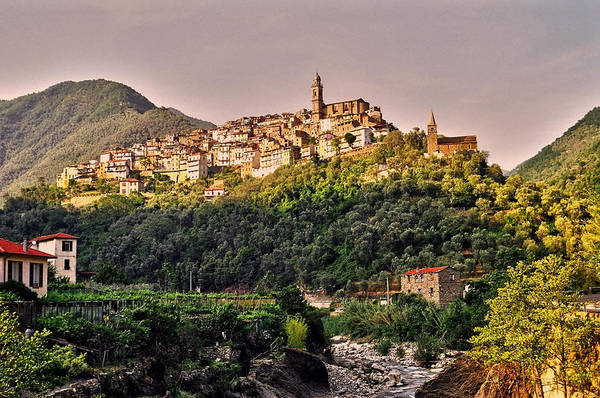 Rot Photograph - Montalto Ligure - Italy by Juergen Weiss