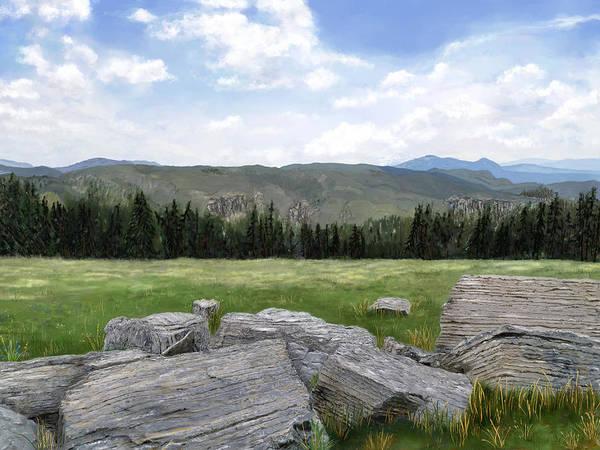 Digital Art - Montana As I See It by Susan Kinney