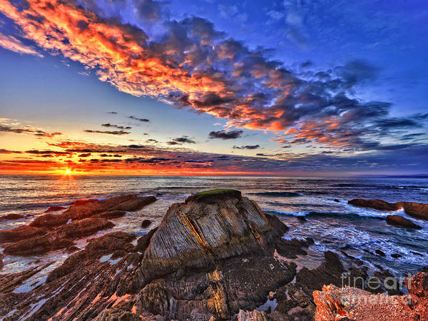 Photograph - Montana De Oro Sunset by Beth Sargent