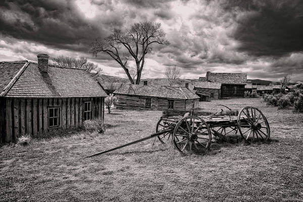 Photograph - Montana Ghost Town by Scott Read