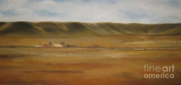 Wall Art - Painting - Montana Landscapes I by Sabina Haas