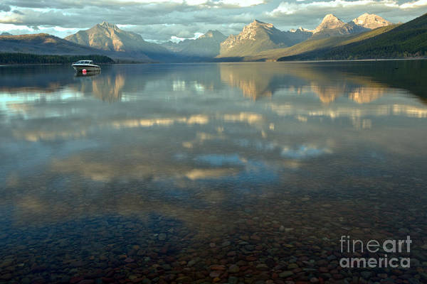 Photograph - Montana Lonely Boat by Adam Jewell